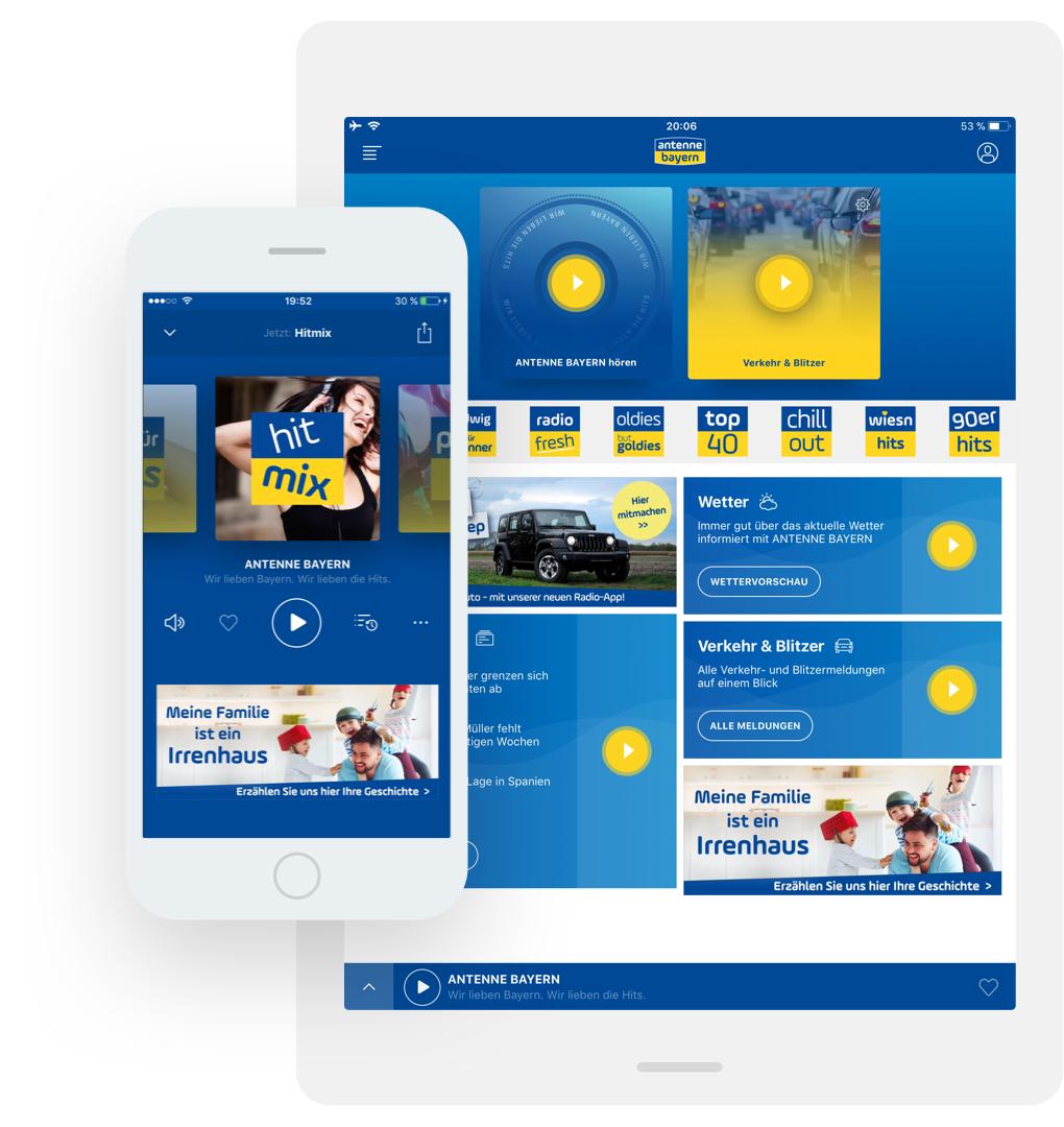 TBO INTERACTIVE Antenne Bayern App