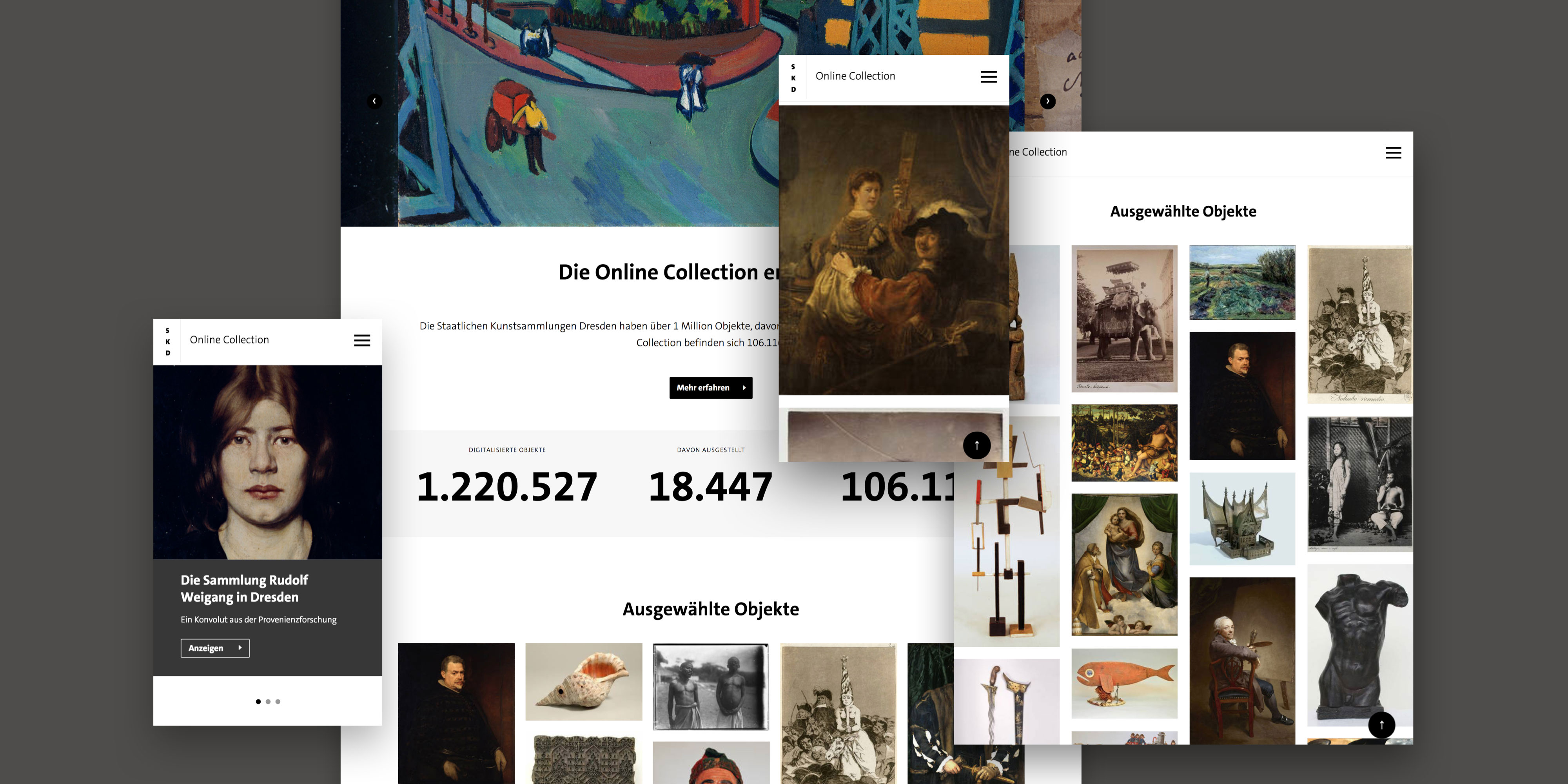 TBO INTERACTIVE Staatliche Kunstsammlungen Dresden Online Collection
