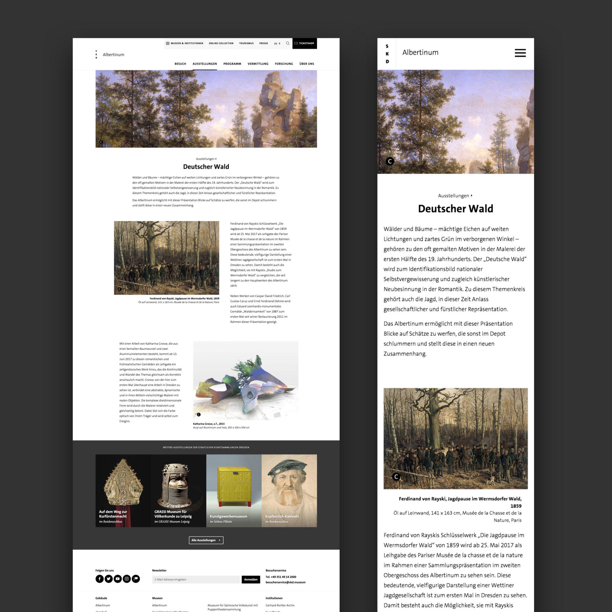 TBO INTERACTIVE Staatliche Kunstsammlungen Dresden Website Relaunch