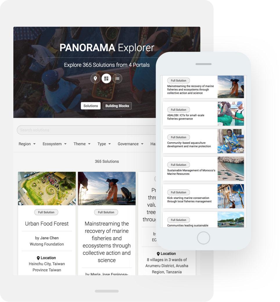 TBO INTERACTIVE GIZ Panorama Website Portal