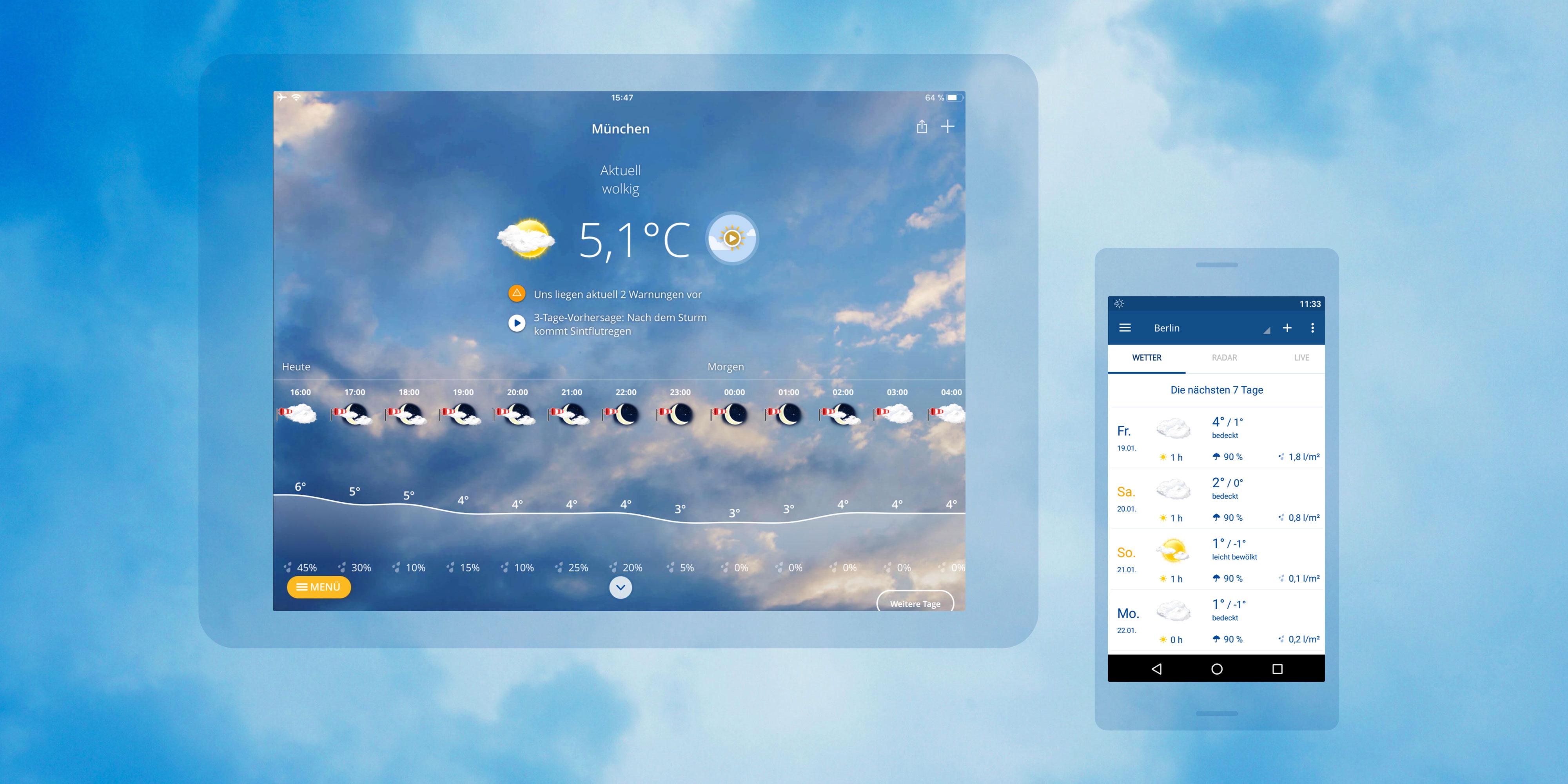 TBO INTERACTIVE wetter.com App