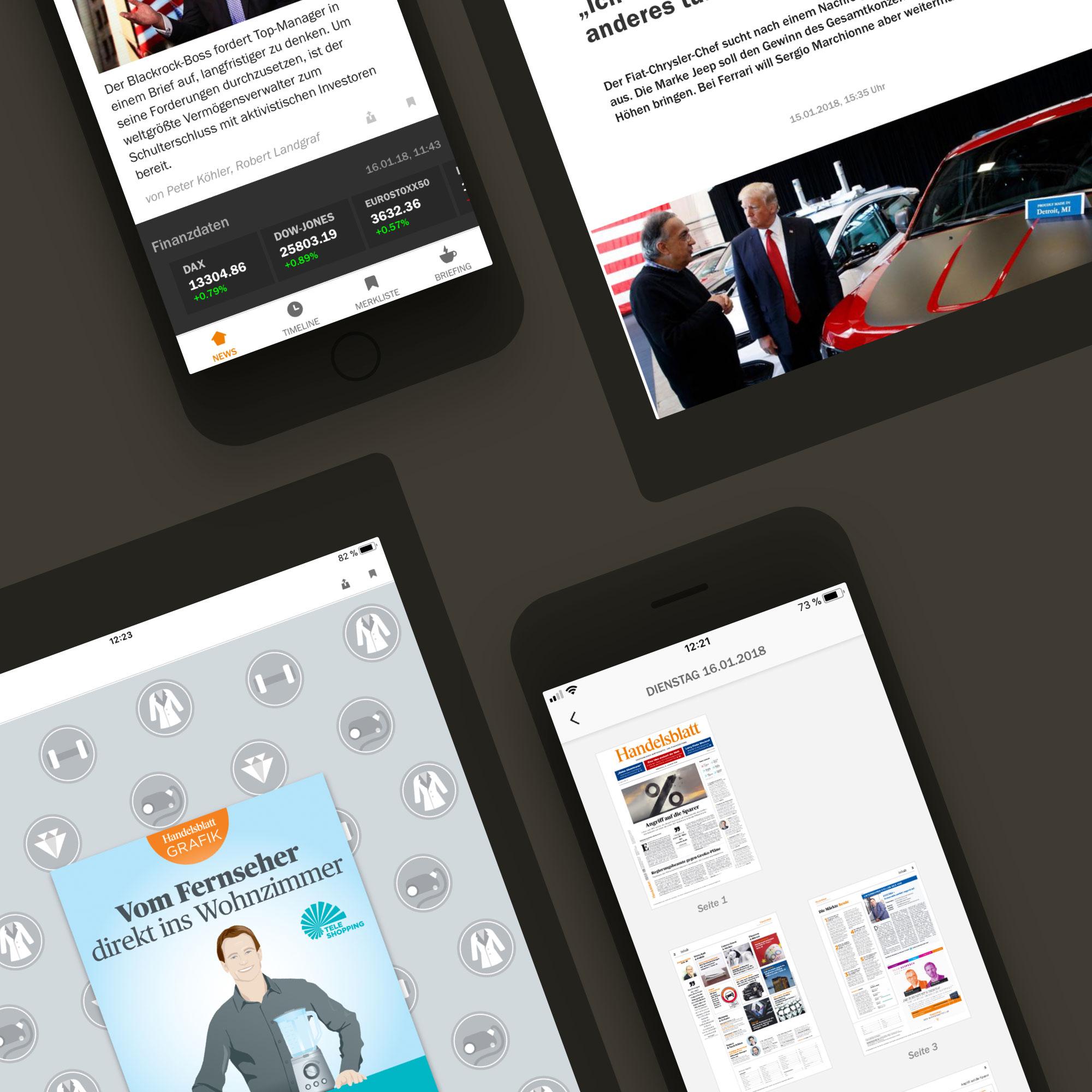TBO INTERACTIVE Handelsblatt App