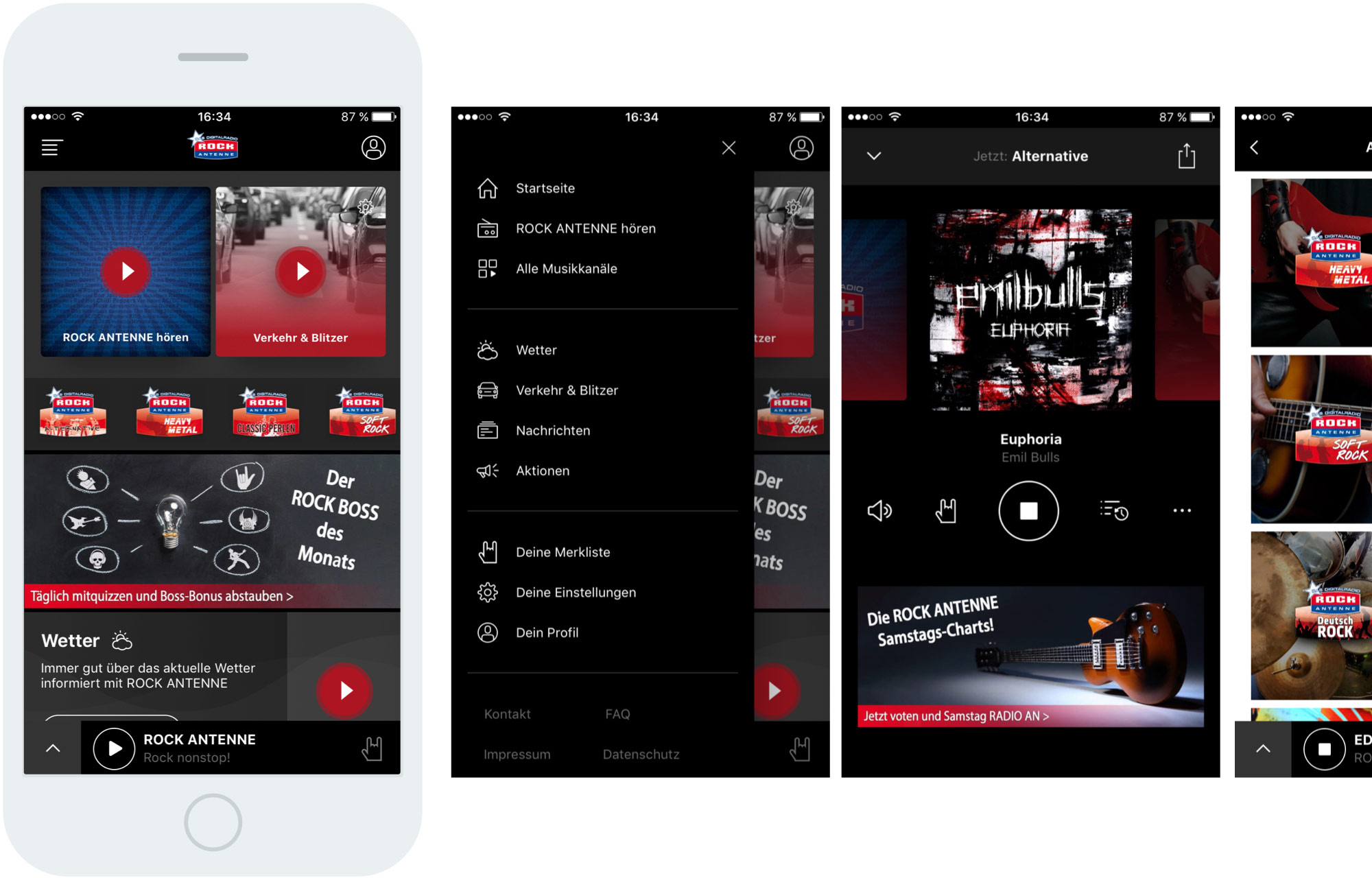 TBO INTERACTIVE Rock Antenne App