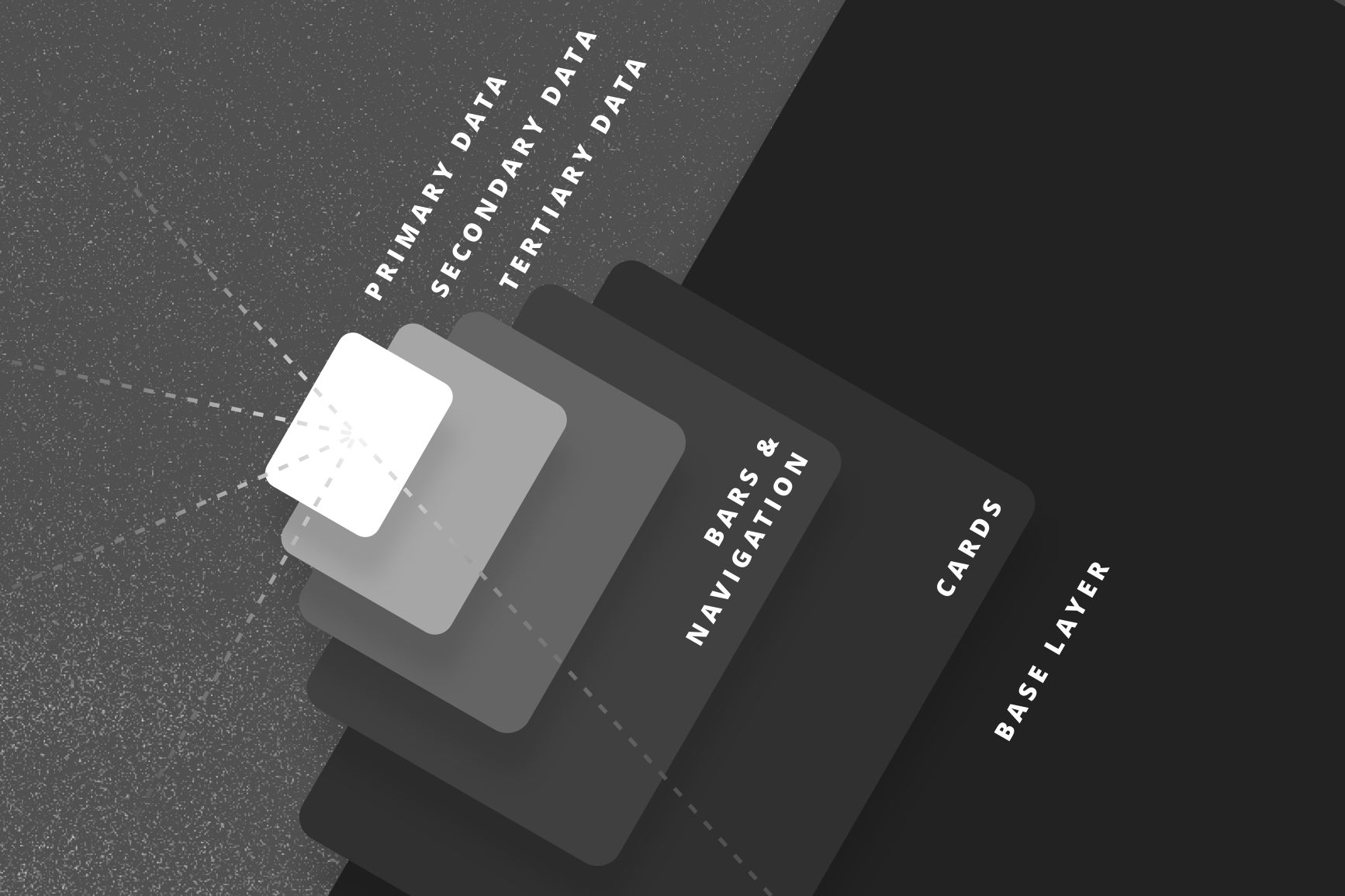 wetter.com dark mode design - layer