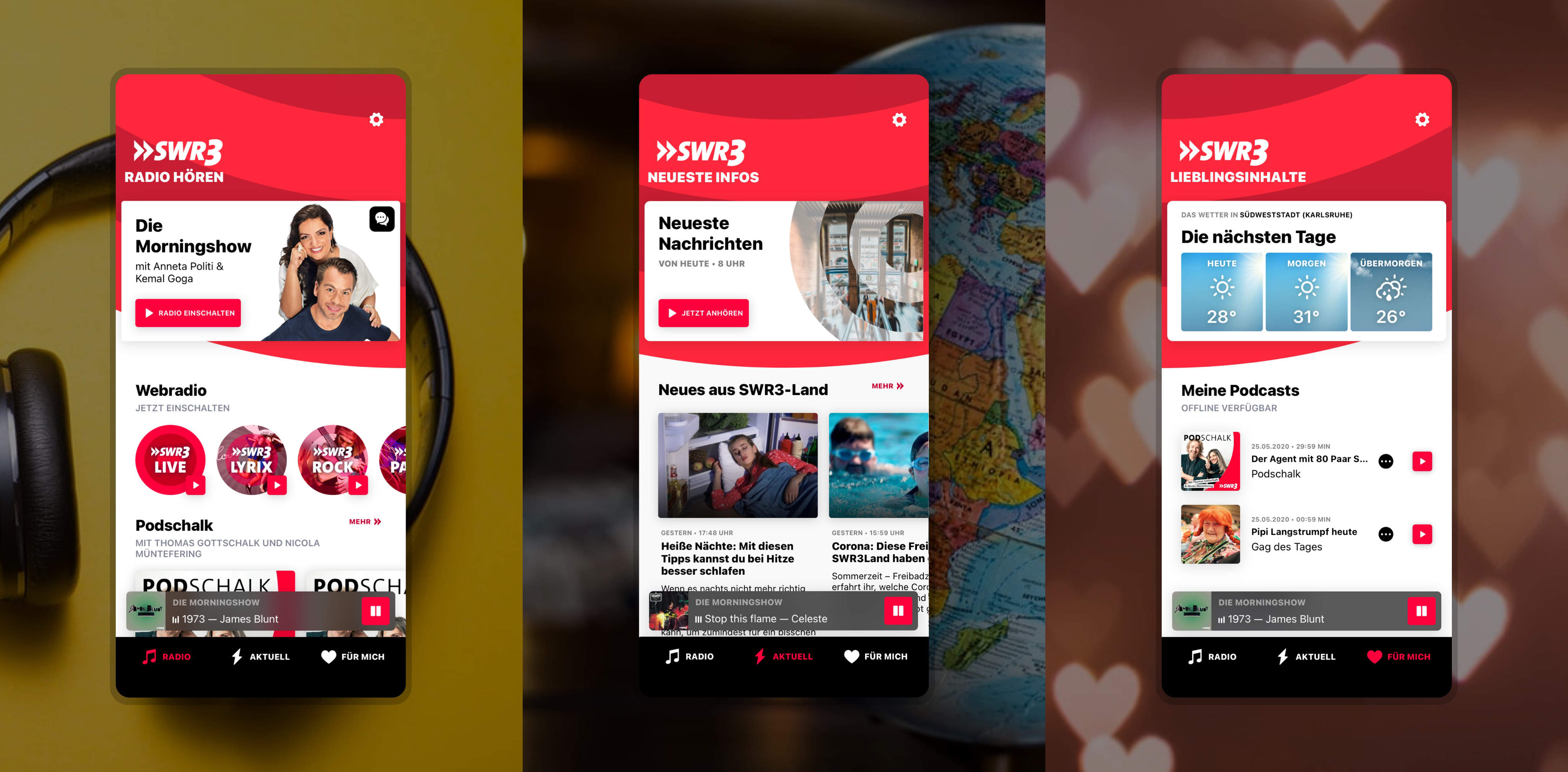 SWR iOS Android App